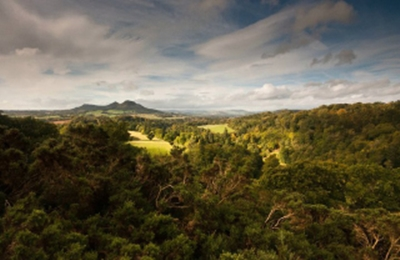 Scott's View, Eildon Hills, October 2010