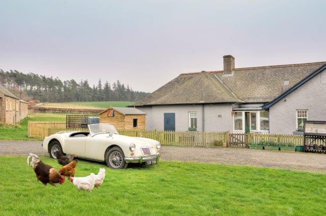 Holiday Accommodation at The Scottish Borders